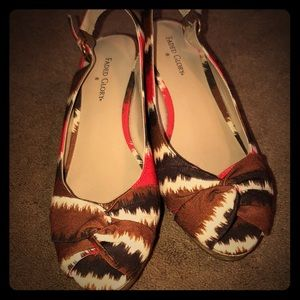 Faded Glory Wedge Sandals